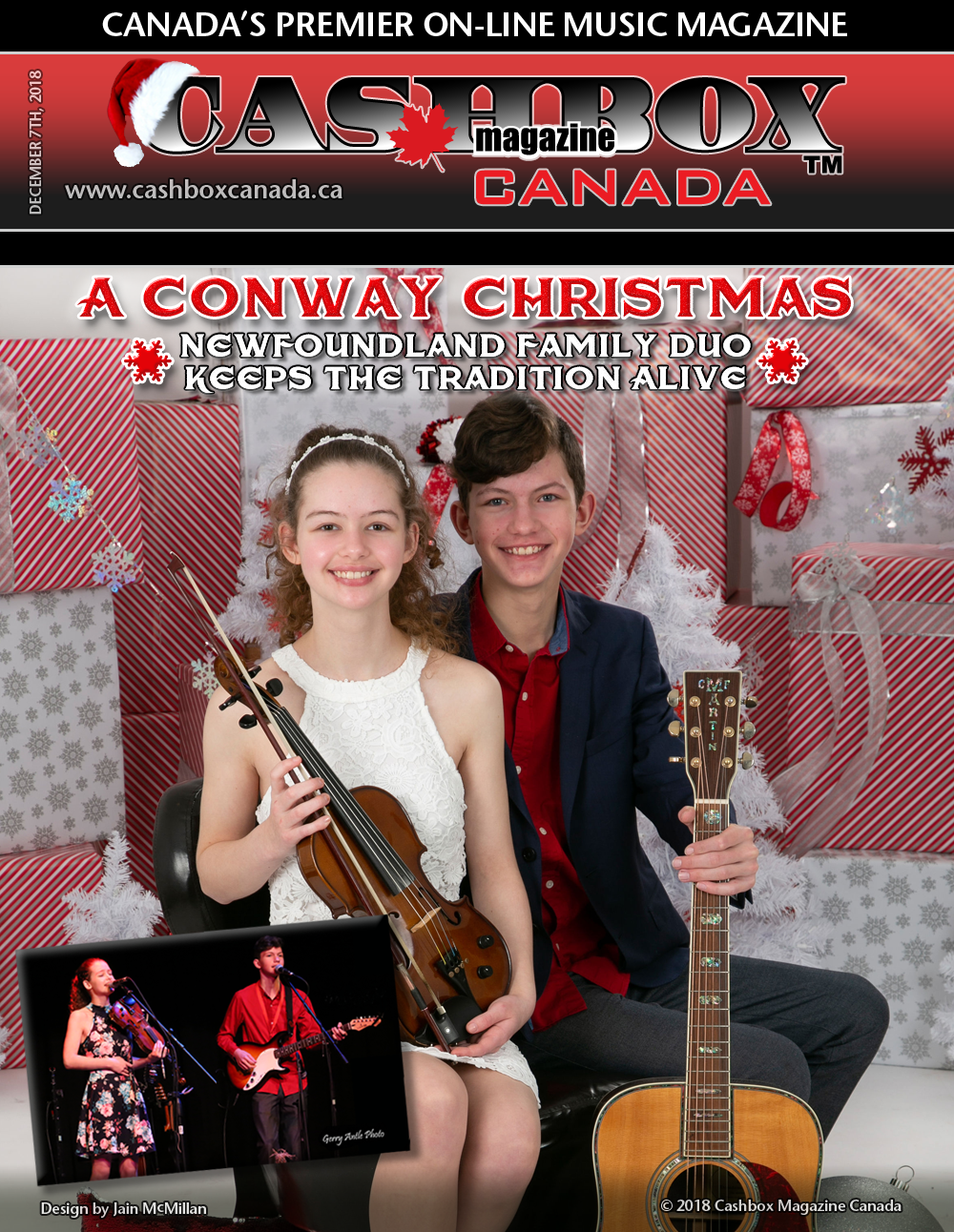 A Conway Christmas - Newfoundland Family Duo Keeps the Tradition Alive