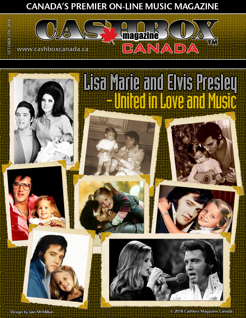 Lisa Marie and Elvis Presley – United in Love and Music