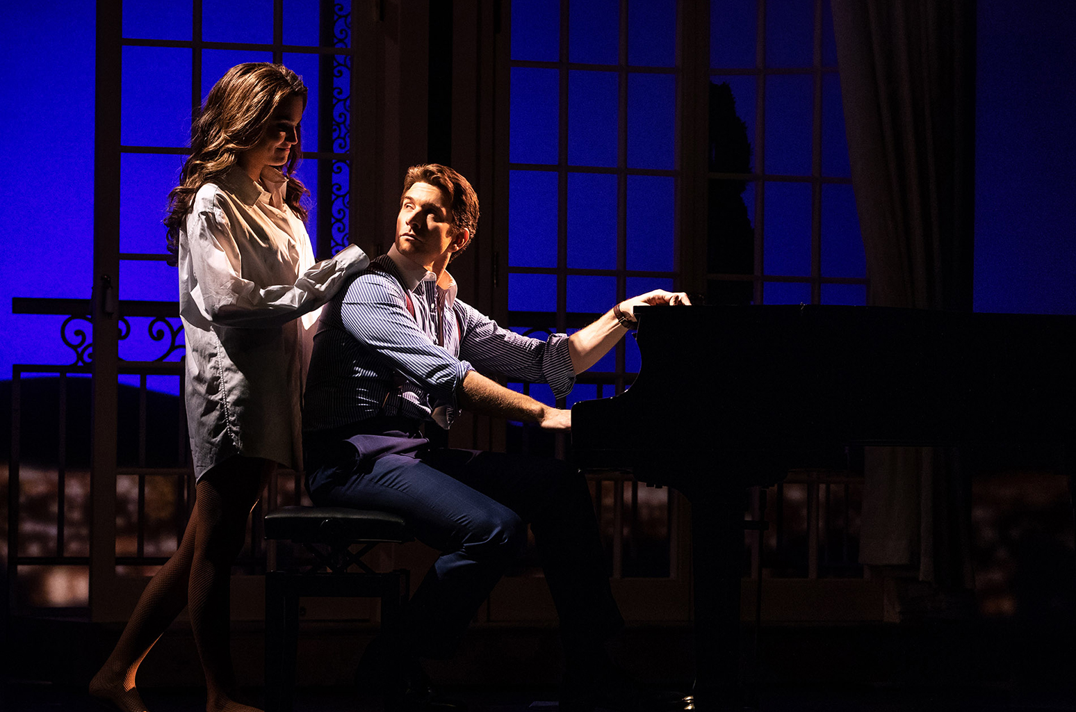 Samantha Barks and Andy Karl Photo Credit Matthew Murphy