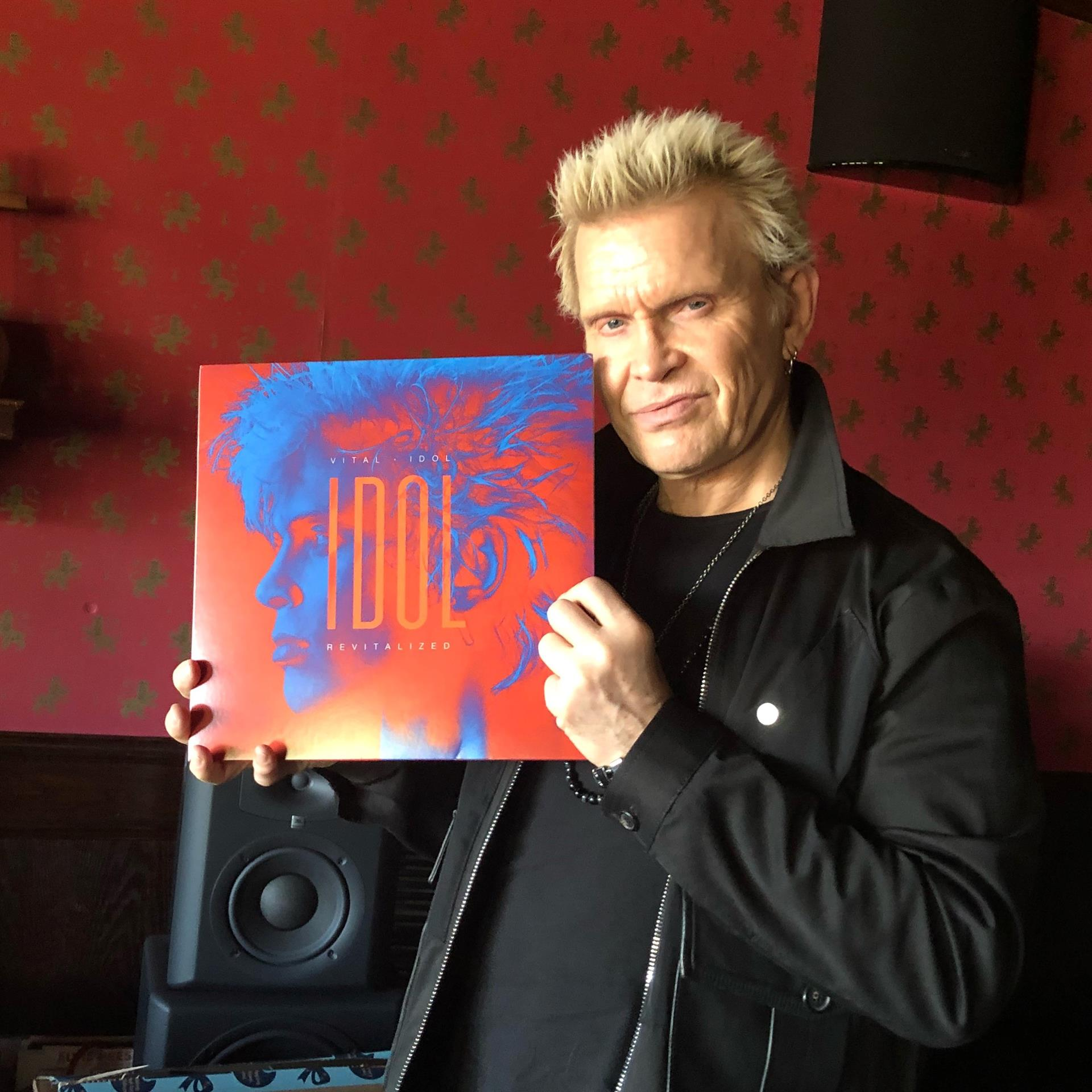 Billy Idol and Vinyl Release of Idol Revitalization
