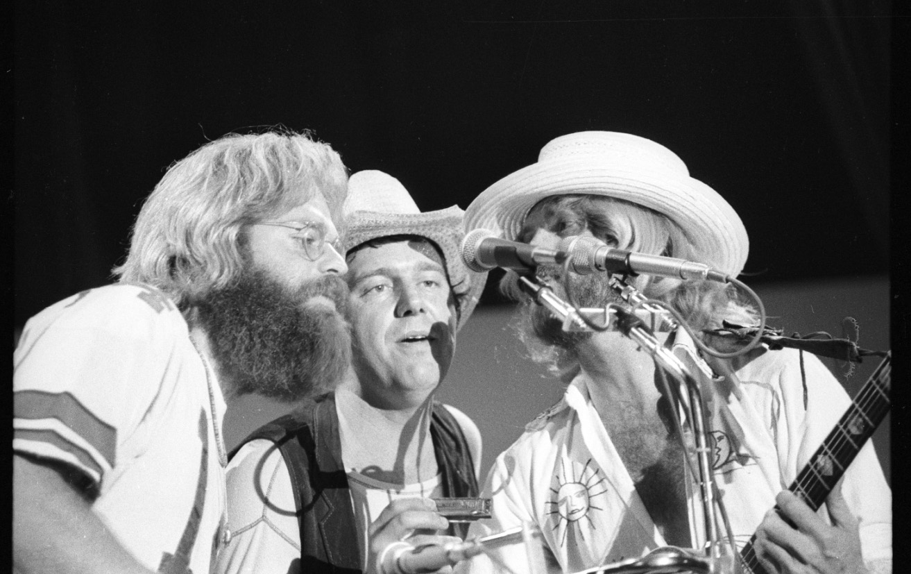 Bob Livingston, Jerry Jeff Walker and Michael Martin Murphey