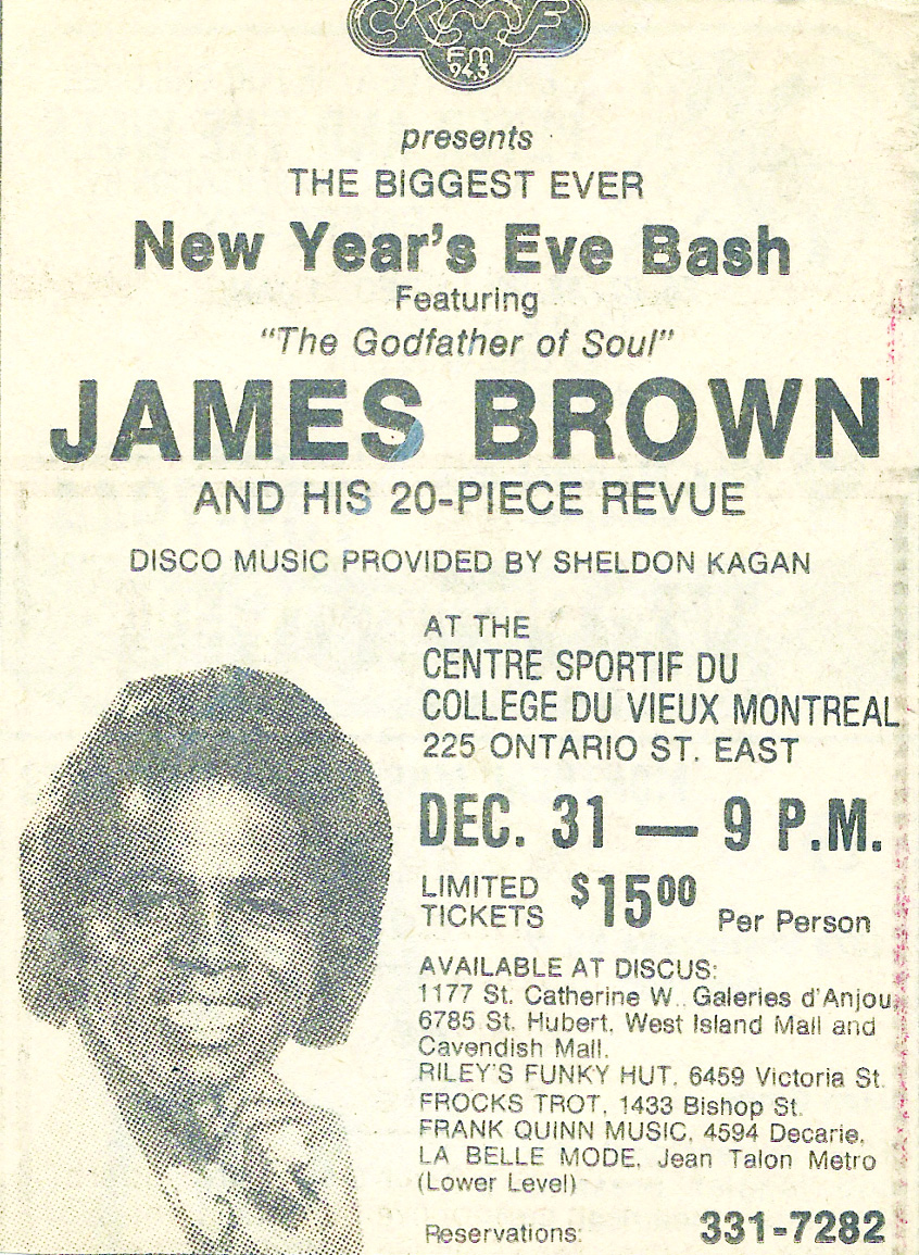 Kagan presents the Legendary James Brown 1980