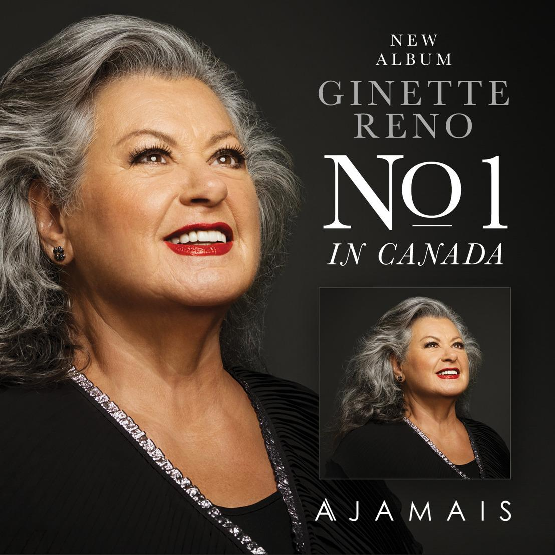 Quebec Superstar Ginette Reno Holds The Number 1 Spot In Canada For Second Week In A Row
