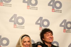 Sandy Horne and Gord Deppe of The Spoons