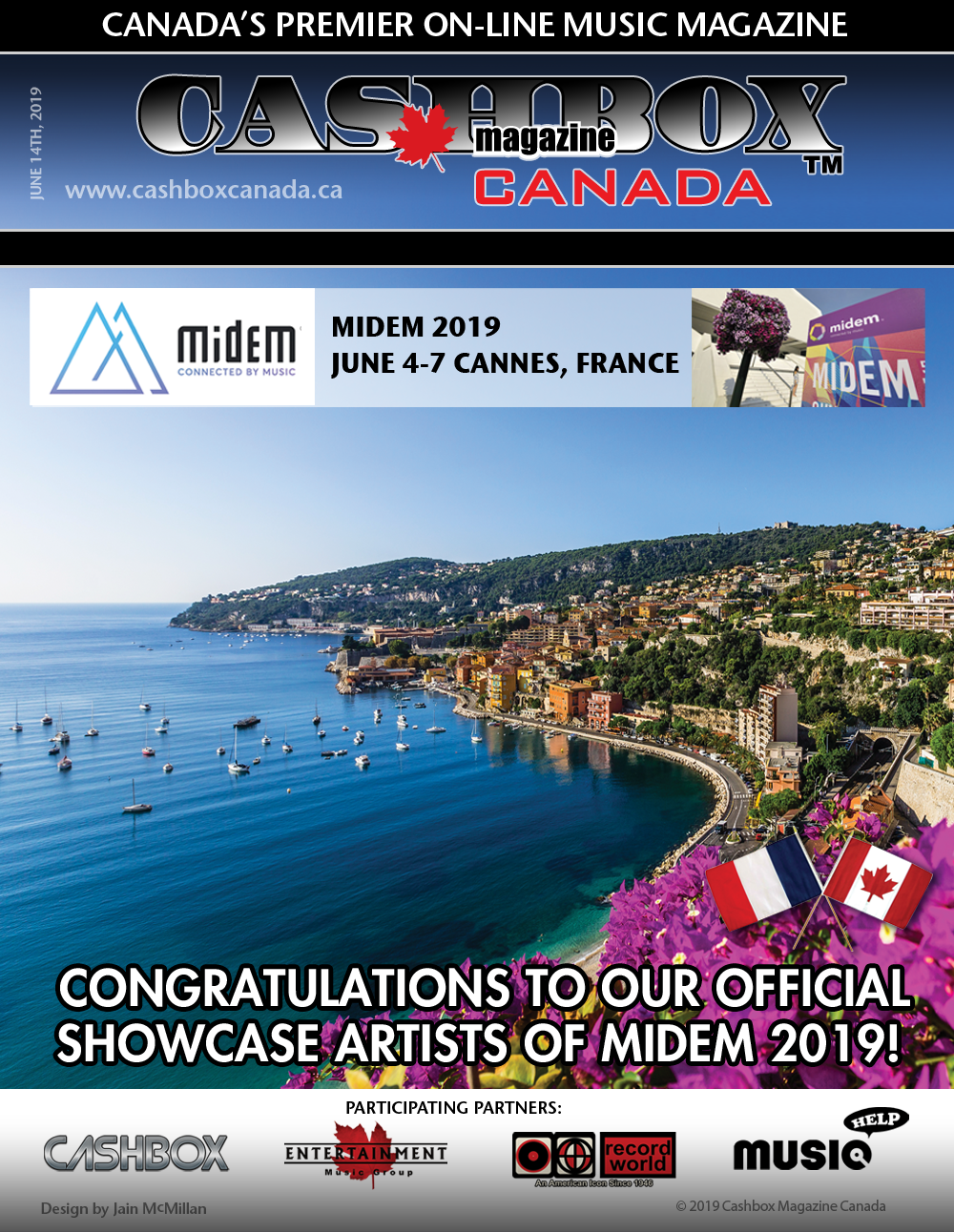 Thank you Morrison's and Midem 2019!   Cashbox Canada