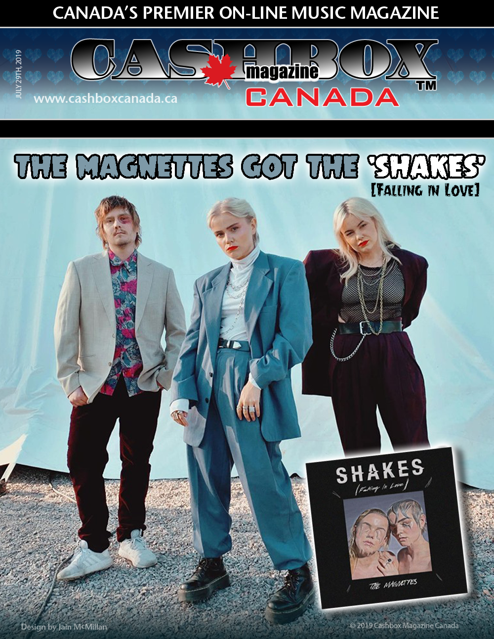 Swedish Group The Magnettes Got the 'Shakes' (Falling in Love)