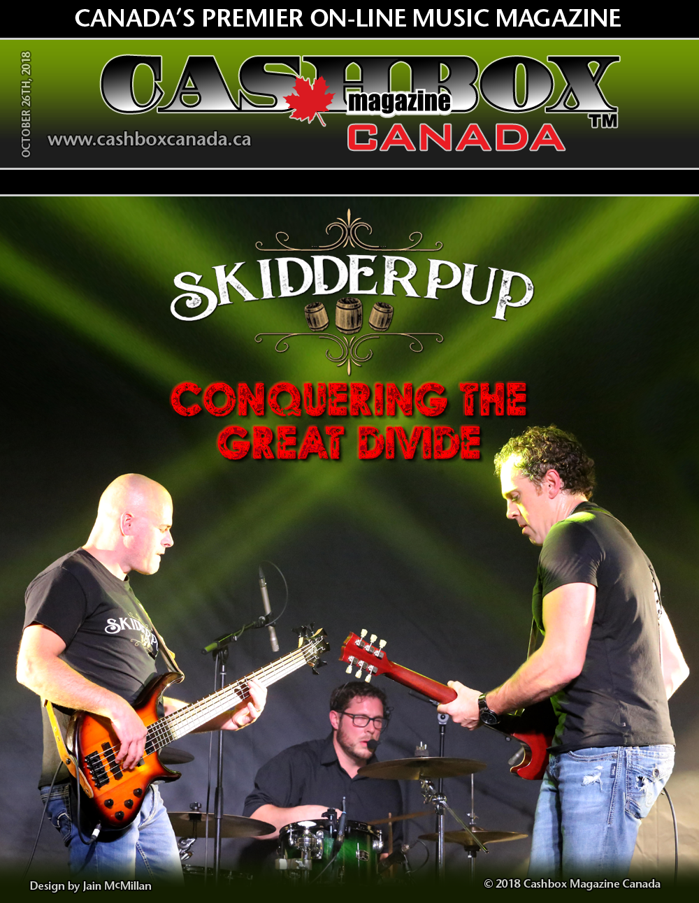 Skidderpup: Conquering The Great Divide