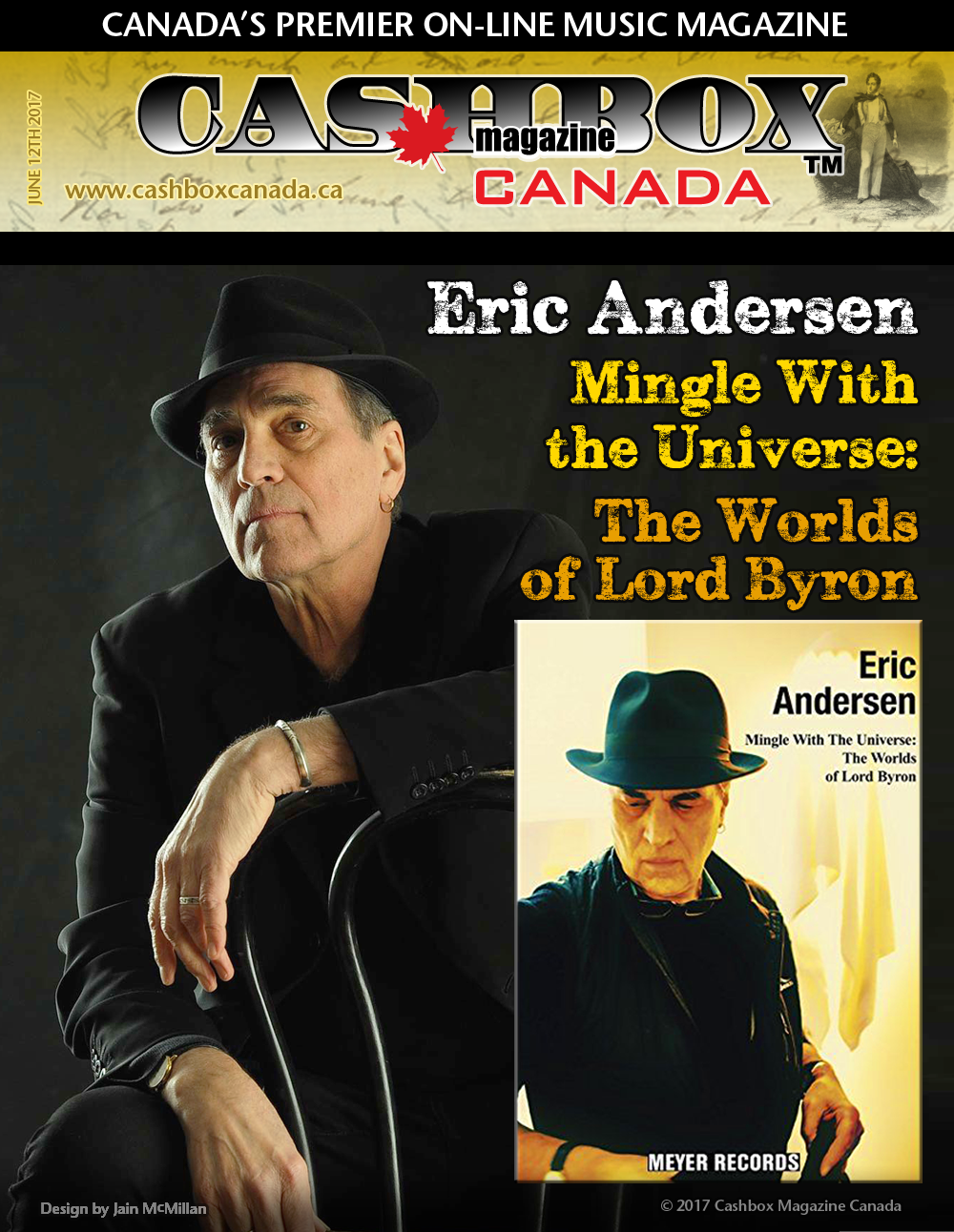 Eric Andersen Mingle With the Universe: The Worlds of Lord Byron