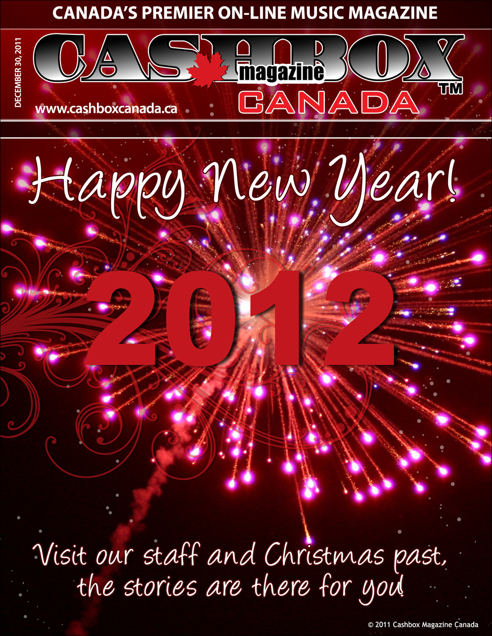 Happy New Year from Cashbox Canada !