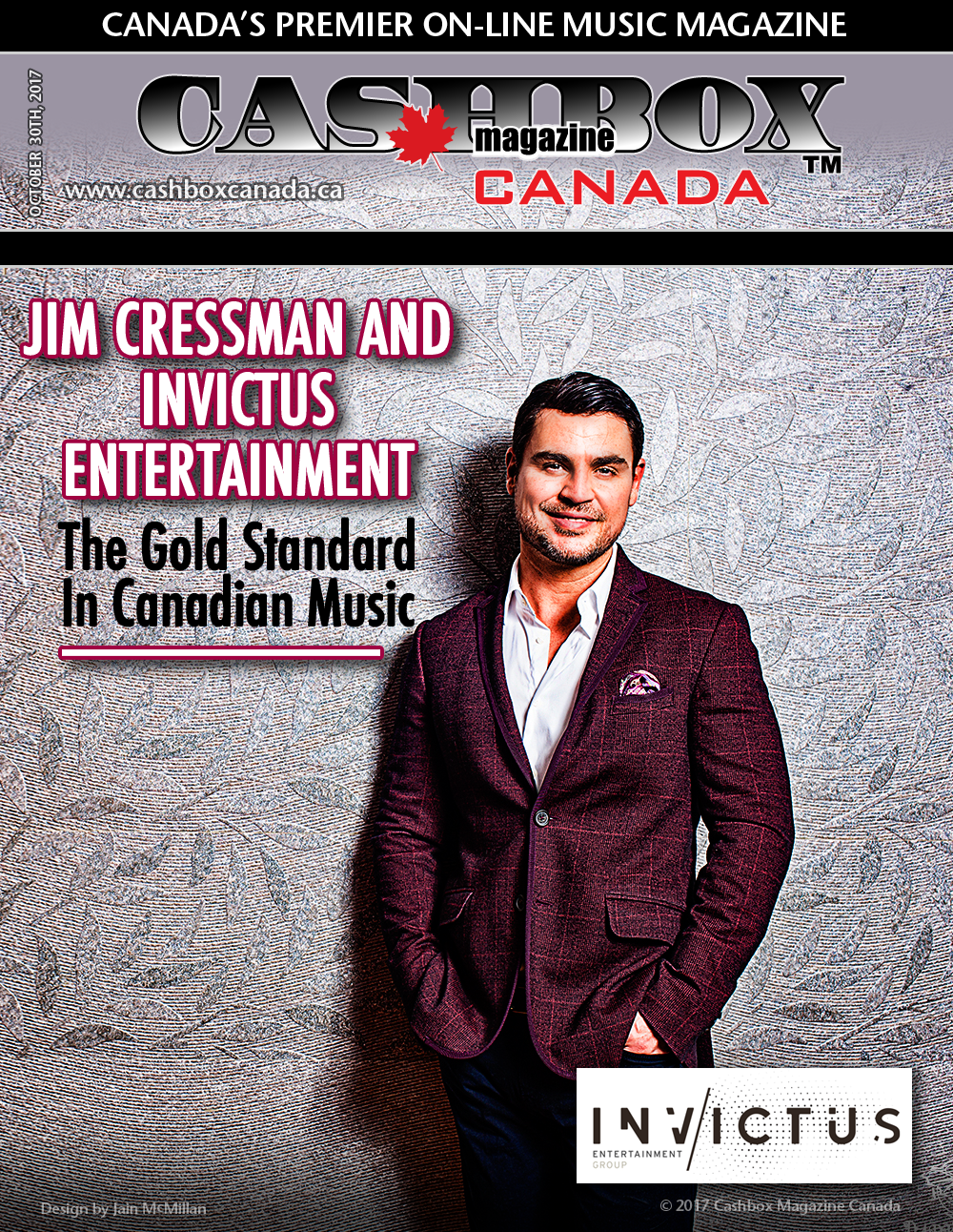 Jim Cressman and Invictus Entertainment Group The Gold Standard