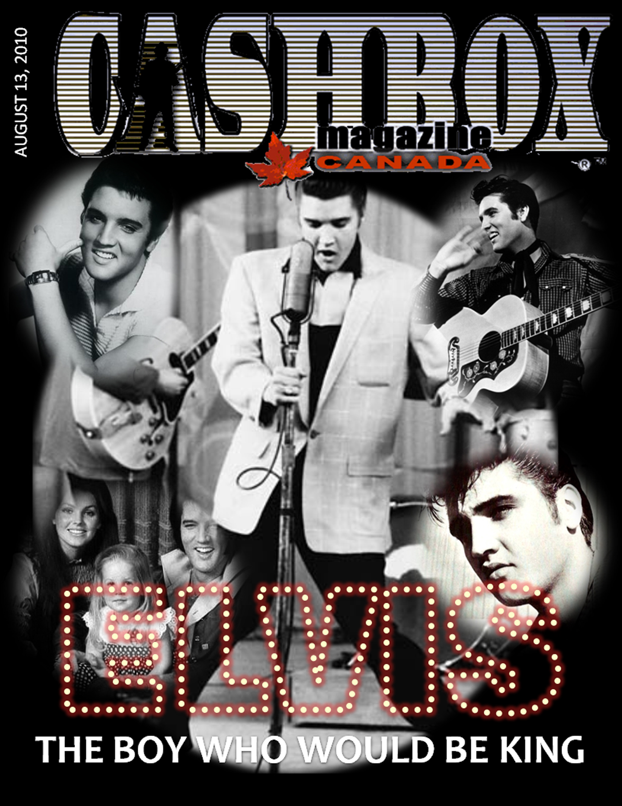 August 13, 2010, Cover Elvis