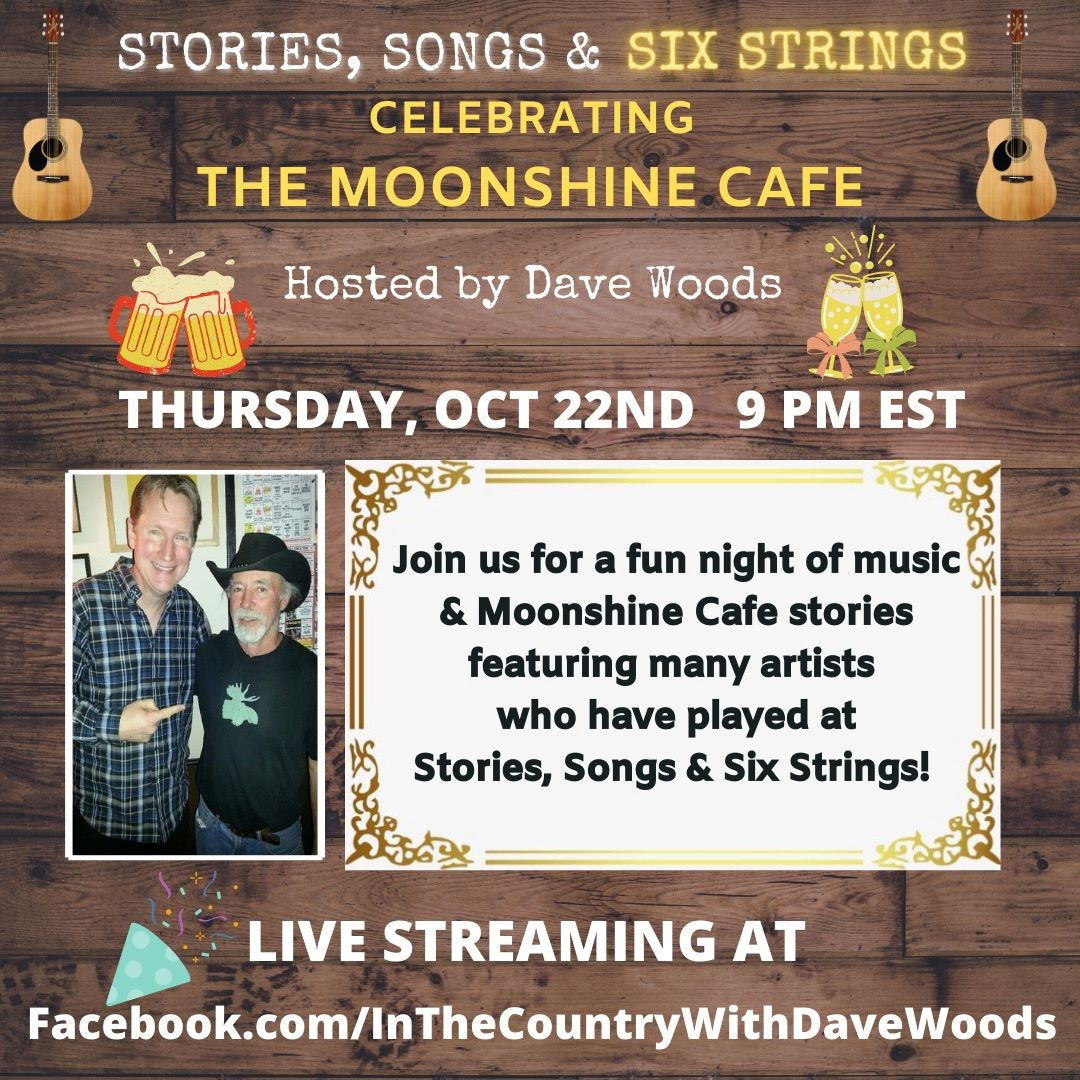 Dave Woods In the Country at the Moonshine Cafe