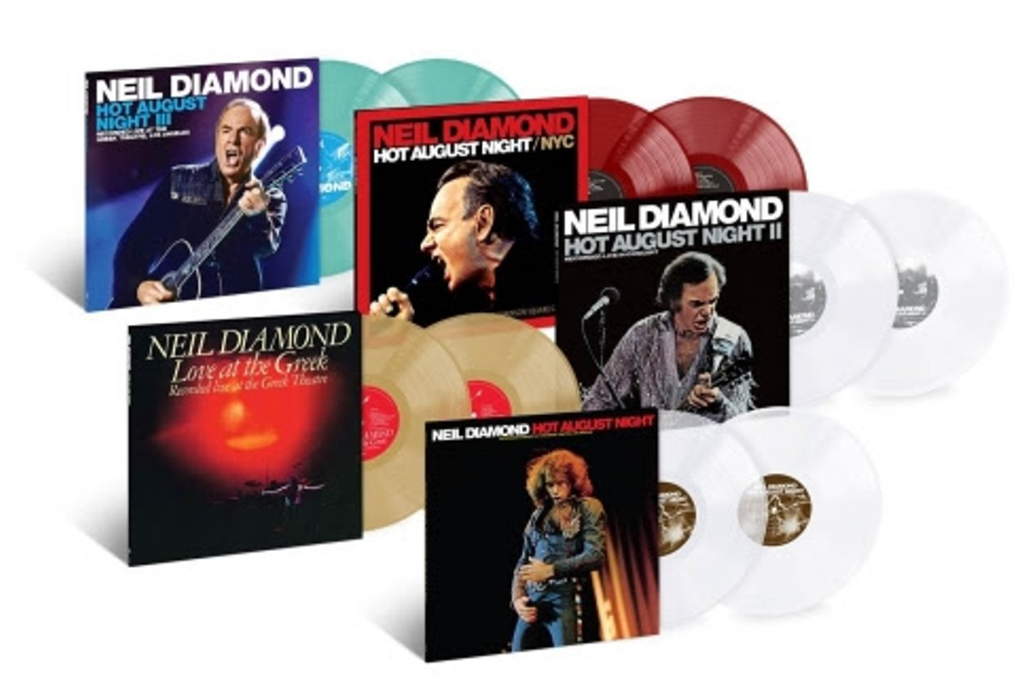 Hot August Nights Box Set
