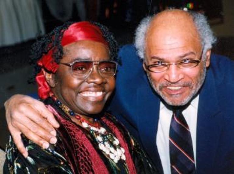 Salome Bey and Howard Matthews
