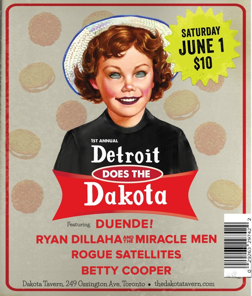 Detroit Does the Dakota!