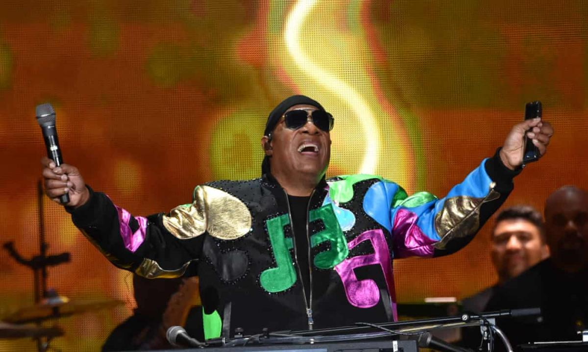 Stevie Wonder British Summer Time Festival July 6 in Hyde Park London
