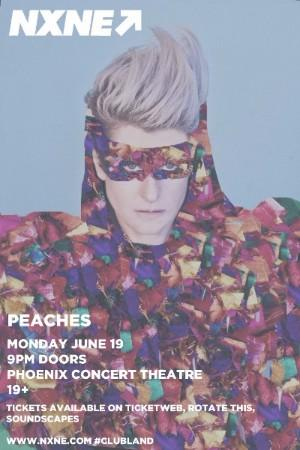 NXNE Launch Party Featuring Peaches with Special Guests at the Phoenix