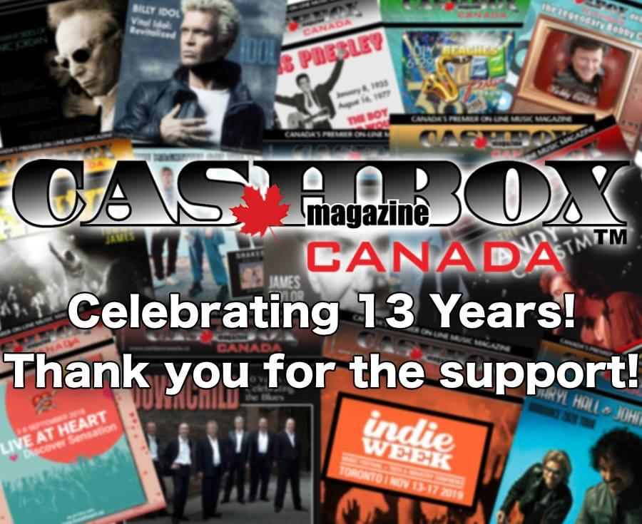 Cashbox Canada and the Lucky 13