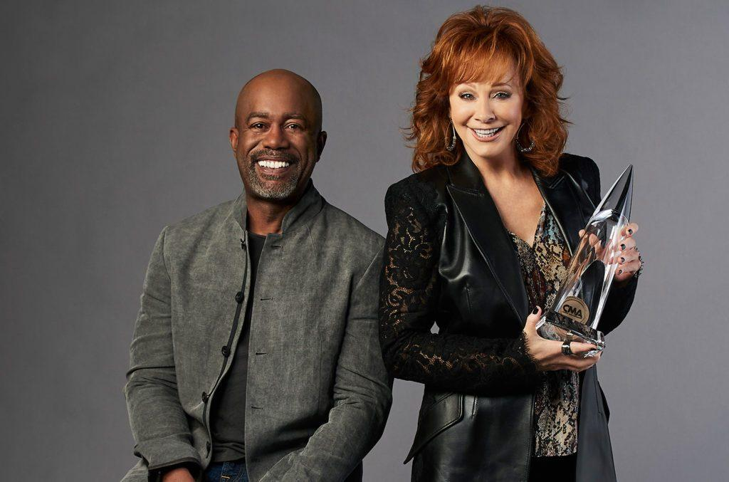 Darius Rucker and Reba McIntyre Co-Hosted the CMA Awards 2020