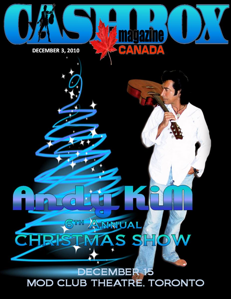 Andy Kim Celebrates Christmas with his 6th Annual Christmas Show