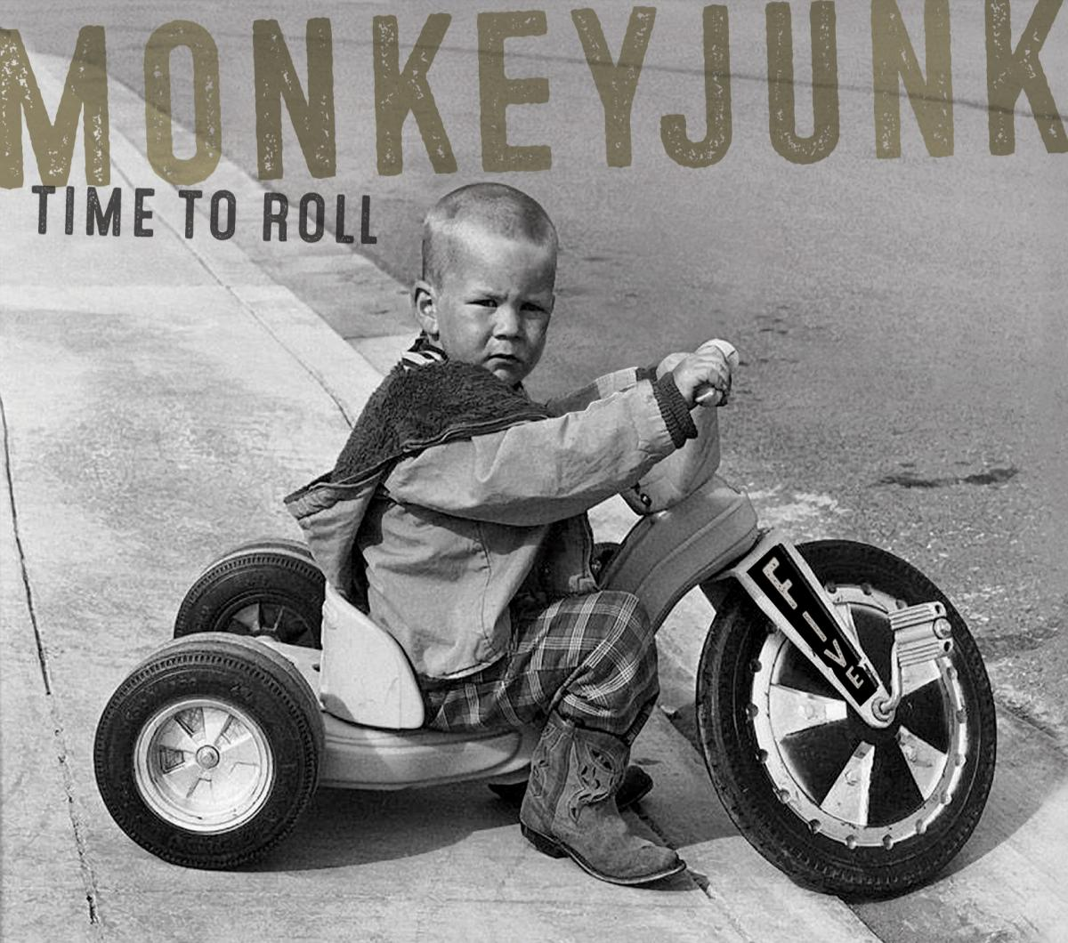 Stony Plain Records Set to Release New Vinyl LP MonkeyJunk– It's Time to Roll
