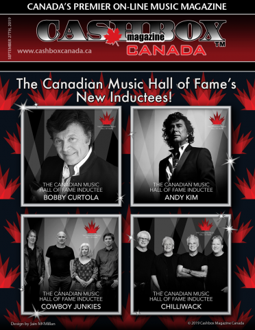 Bobby Curtola, Andy Kim, Chilliwack and Cowboy Junkies to be inducted to the Canadian Music Hall of Fame