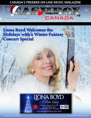 Liona Boyd Welcomes the Holidays with a Winter Fantasy Concert Special