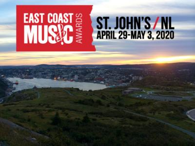 East Coast Music Awards Nominees for 2020 Announced