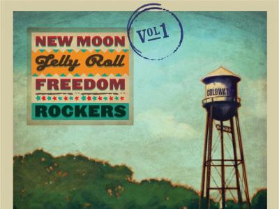 New Moon Jelly Roll Freedom Rockers