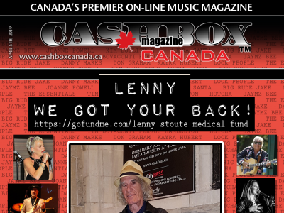 Lenny Stoute We Got Your Back!