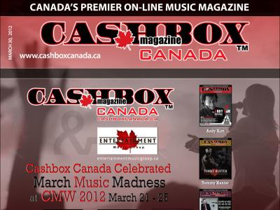 Cashbox Canada Celebrated March Music Madness at CMW