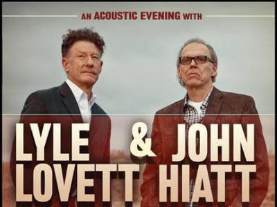 Lyle Lovett and John Hiatt Perform at Meridian Hall April 30